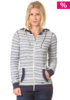 QUIKSILVER Womens Signature Hooded Jacket indigo blue