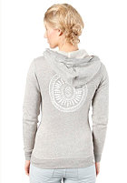 QUIKSILVER Womens Signature Hooded Zip Sweat light grey heat