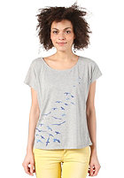 QUIKSILVER Womens So Free S/S T-Shirt light grey heat