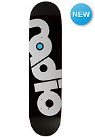 RADIO SKATEBOARDS Deck Original Logo 8.00 black
