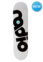 RADIO SKATEBOARDS Deck Original Logo 8.00 white