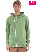 Cowboy Hooded Zip Sweat green melange