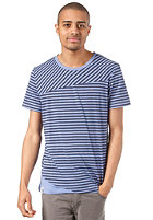 RAGWEAR Double S/S T-Shirt baja blue stripes