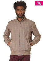 RAGWEAR Finge E Woven Jacket brown red checks