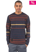 RAGWEAR Gobi Woolsweat blue stripes