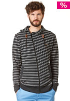 RAGWEAR Gotcha Stripes Hooded Jacket black stripes