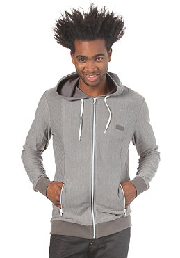 RAGWEAR Icon Hooded Zip Sweat pewter herringbone