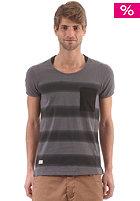 Ironic S/S T-Shirt black stripes