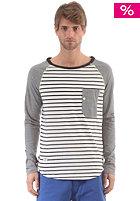 RAGWEAR Noah Longsleeve black stripes