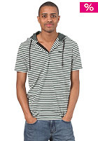 RAGWEAR Samer S/S T-Shirt pine green stripes