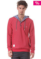 RAGWEAR Victory A Hooded Sweat red melange