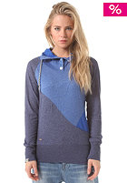 RAGWEAR Womens Alma Hooded Sweat royal blue melange