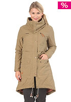 RAGWEAR Womens Amber Woven Jacket military beige