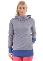 RAGWEAR Womens Angel Sweat blue ministripes