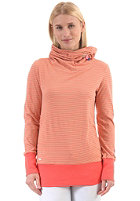 RAGWEAR Womens Angel Sweat coral ministripes