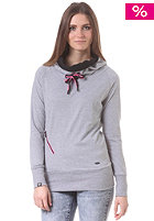 RAGWEAR Womens Bacca Hooded Sweat grey melange