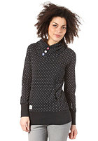 RAGWEAR Womens Chelsea B Hooded Sweat black minidots