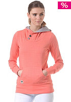 RAGWEAR Womens Chelsea Hooded Sweat salmon minidots