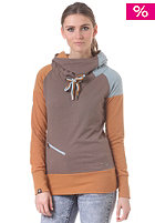 RAGWEAR Womens Chewbacca Hooded Sweat curry
