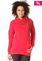 RAGWEAR Womens Fan Hooded Sweat chili red