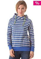 RAGWEAR Womens Fun Time Hooded Sweat royal blue stripes