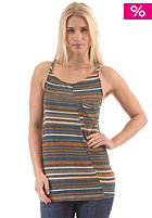 RAGWEAR Womens Gaia Top brown stripes