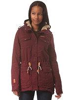 RAGWEAR Womens Laika A Jacket mahogany