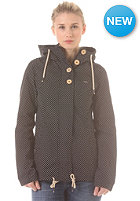 RAGWEAR Womens Lynx Dots Jacket black dots