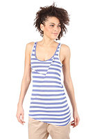 RAGWEAR Womens Lyre Top baja blue stripes