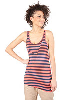 RAGWEAR Womens Lyre Top red stripes
