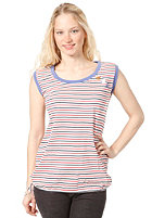 RAGWEAR Womens Mike B Top white stripes