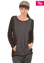 RAGWEAR Womens Mind L/S Shirt dark grey stripes