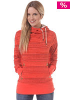RAGWEAR Womens Navajo Hooded Sweat red orange