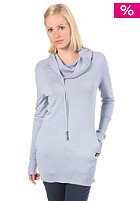 RAGWEAR Womens Nobodys Hero Sweatshirt light blue melange