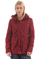 RAGWEAR Womens Plenty Jacket rumba red