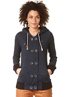 RAGWEAR Womens Rainey Hooded Sweat black melange