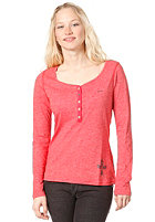 RAGWEAR Womens Sky L/S T-Shirt red melange