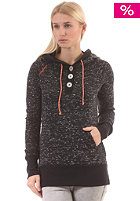 RAGWEAR Womens Tim Hooded Sweat black melange