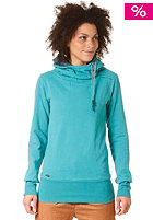 Womens Yoda A Hooded Sweat lake green
