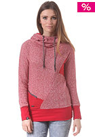 RAGWEAR Womens Yoda C Hooded Sweat red melange