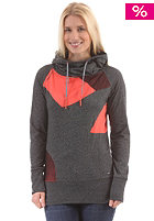 RAGWEAR Womens Yoda C Sweat black melange