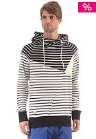 RAGWEAR Yodan Mens Hooded Sweat black stripes