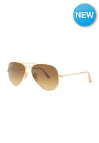 RAY BAN Aviator Large Metal Icons Sunglasses 55mm matte gold brown gradient