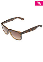 RAY BAN Justin Youngster Sunglasses 55mm rubber light havana brown gradient