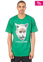 REAL Real x ODD Future Premium Fergulfson S/S T-Shirt kelly green