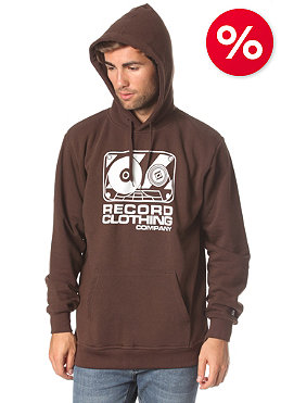 RECORD Madison Hooded Sweat bittersweet