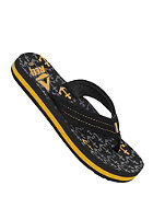 REEF Ahi Sandals black/gold