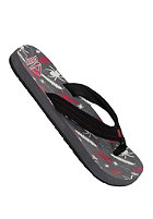 REEF Ahi Sandals grey/red/black