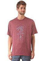 REEF Banana Craze S/S T-Shirt burgundy heather