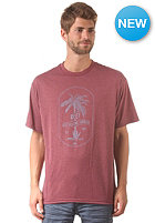 REEF Banana Craze S/S T-Shirt burgundy heather
